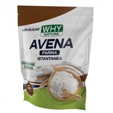 Farine WHY Nature, Avena farina istantanea, 1000 g.