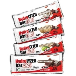Barrette proteiche Pro Nutrition, Hydrolyzed Bar 50%, 35 g.