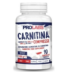 Carnitina Prolabs, Carnitina, 90 cpr