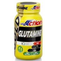 Glutammina Proaction Promuscle, Glutammina Gold, 150 cpr.