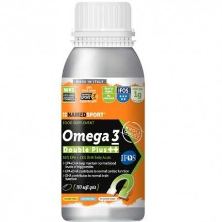 Offerte Limitate Named Sport, Omega 3 Double Plus ++, 110 cps.