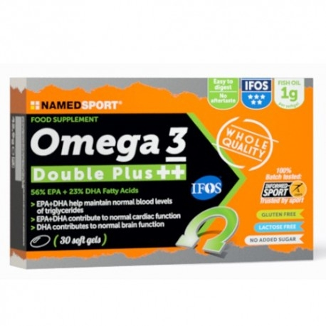 Offerte Limitate Named Sport, Omega 3 Double Plus ++, 30 cps.