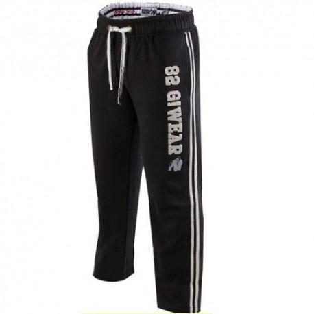 T-Shirt e Pantaloni Gorilla Wear, 82 Sweat Pants, Black