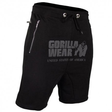 T-Shirt e Pantaloni Gorilla Wear, Alabama Drop Crotch Shorts, Black