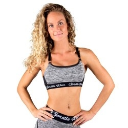 T-Shirt e Pantaloni Gorilla Wear, Aurora Bra, Mixed Gray