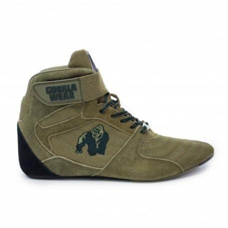 Scarpe Gorilla Wear, Perry High Tops, Army Green