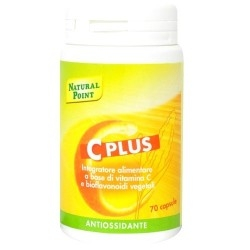 Vitamina C Natural Point, C Plus, 70 cps.