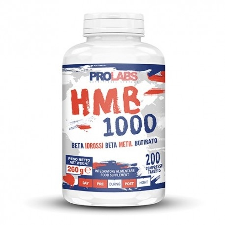 HMB Prolabs, HMB 1000, 200 cpr.