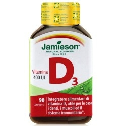 Vitamina D Jamieson, Vitamina D3, 90cpr.