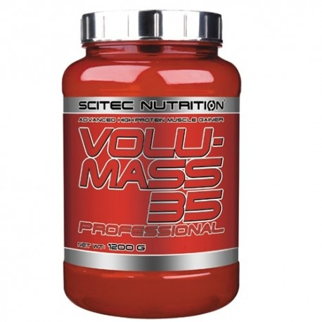 Gainers Scitec Nutrition, Volumass 35 Professional, 1200 g.