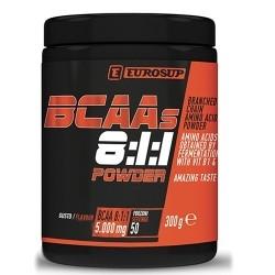 Aminoacidi Ramificati (Bcaa) Eurosup, BCAAs 8:1:1 Powder, 300 g