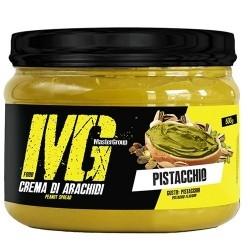 Burro di Arachidi MG Food, Crema di arachidi al Pistacchio, 500g