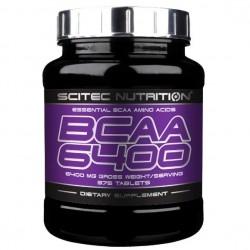 Aminoacidi Ramificati (Bcaa) Scitec Nutrition, Bcaa 6400, 375tav.