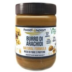 Burro di Arachidi Pro Nutrition Food4sport, Burro di arachidi, 500 g