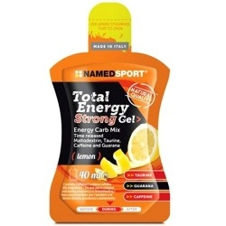 Carbogel Named Sport, Total Energy Strong Gel, 24 pz. da 40 ml