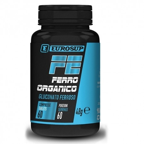 Ferro Eurosup, Ferro Organico, 60cpr.