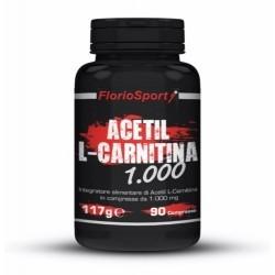 Carnitina FlorioSport, Acetil L-Carnitina 1000, 90 cpr.