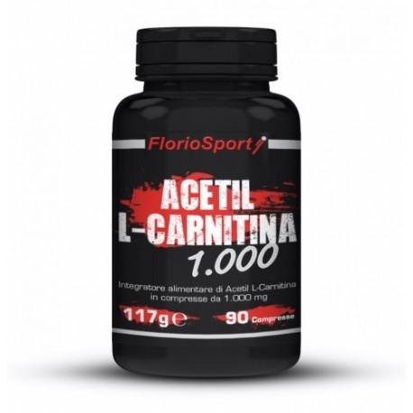 FlorioSport, Acetil L-Carnitina 1000, 90 cpr.