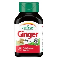 Funzionalità digestiva Jamieson, Ginger, 30 cps. (Sc.02/2020)