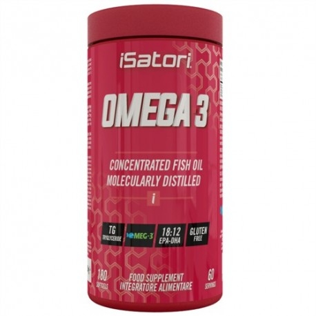 Omega 3 Isatori, Omega-3, 180cps.