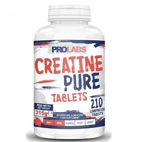 Creatina Prolabs, Creatine Pure, 210 cpr.