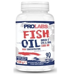 Omega 3 Prolabs, Fish Oil Omega-3, 90 Cps.