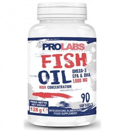Omega 3 Prolabs, Fish Oil Omega-3, 90Cps.