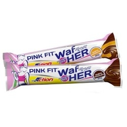 Barrette proteiche Proaction Pink Fit, WafHer, 24 pz. da 20 g.