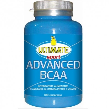 Aminoacidi Ramificati (Bcaa) Ultimate Italia, Advanced Bcaa, 100 cpr.