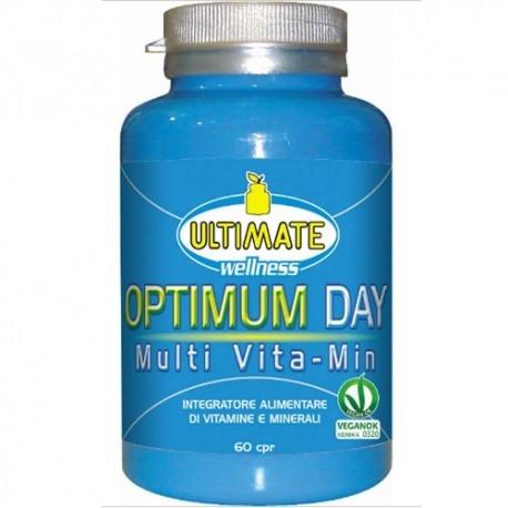 Multivitaminici - Multiminerali Ultimate Italia, Optimum Day, 60 cpr.