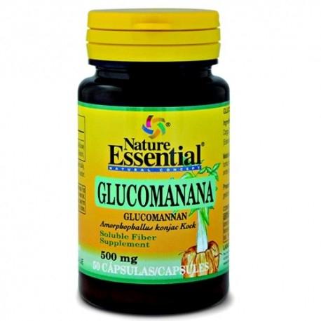 Glucomannano Nature Essential, Glucomanana, 50 cps.