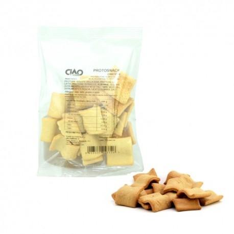 Pane e Prodotti da Forno Ciao Carb, ProtoSnack Cracker, 50 g.