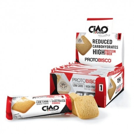 Biscotti e Dolci Ciao Carb, Protobisco 10 x 50 g