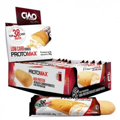 Biscotti e Dolci Ciao Carb, Protomax Savoiardo, 10 x 35 g