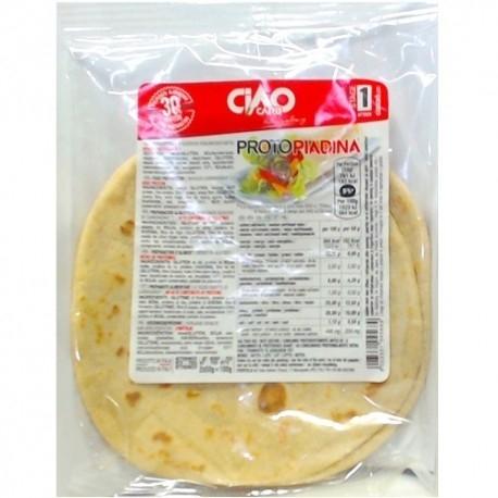 Pane e Prodotti da Forno Ciao Carb, ProtoPiadina, (2 x 50 g)