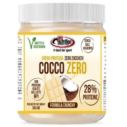 Creme alimentari Pro Nutrition, Cocco Zero, 350 g