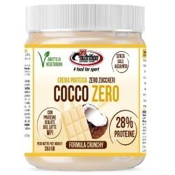 Creme Spalmabili Pro Nutrition, Cocco Zero Crunchy, 350 g