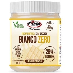 Creme Spalmabili Pro Nutrition, Bianco Zero Crunchy, 350 g