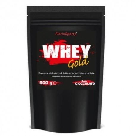 Proteine del Siero del Latte (whey) FlorioSport, Whey Gold, 900 g.
