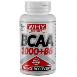 Aminoacidi Ramificati (Bcaa) WHY Sport, Bcaa 1000+B6, 100 cpr.
