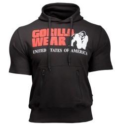 T-Shirt e Pantaloni Gorilla Wear, Boston Short Sleeve Hoodie, Black