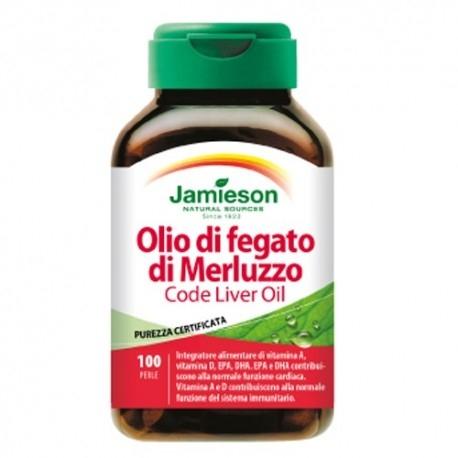 Jamieson, Olio di Fegato di Merluzzo, 100Perle.