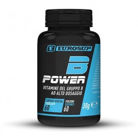 Vitamina B Eurosup, B Power, 60cps.