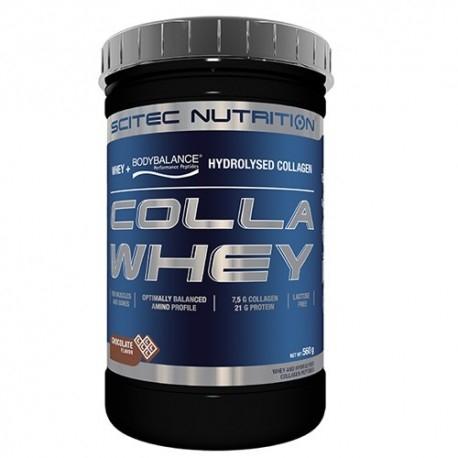 Proteine del Siero del Latte (whey) Scitec Nutrition, Colla Whey, 560 g