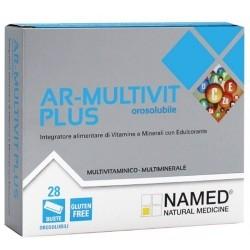 Vitamine e Minerali Named, AR-Multivit Plus, 28 pz