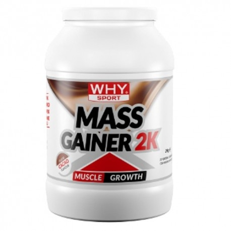Weight Gainers WHY Sport, Mass Gainer, 2000 g.