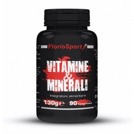 Vitamine e Minerali FlorioSport, Vitamine e Minerali, 90 cpr.