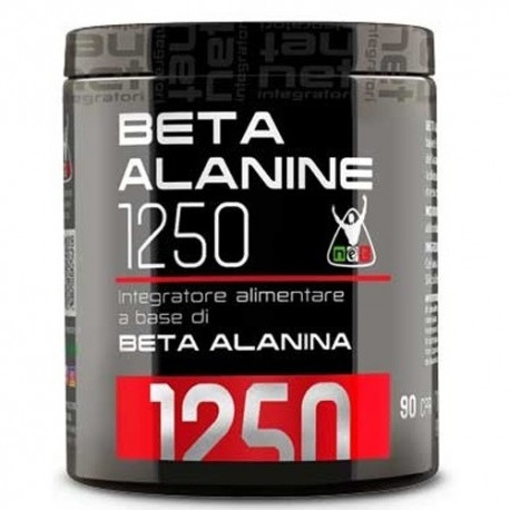 Beta alanina Net Integratori, Beta Alanine 1250, 90 cpr.