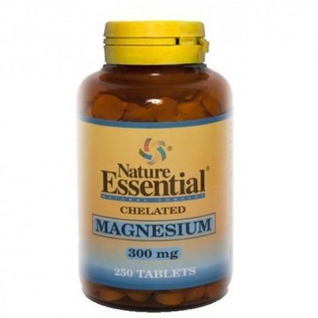 Zinco e Magnesio Nature Essential, Magnesio Chelato, 250 cpr.