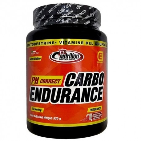 Mix Carboidrati Pro Nutrition, Carbo Endurance, 520 g
